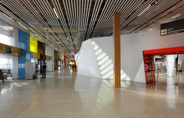 Аэропорт Кольцово: реконструированный терминал внутрироссийских рейсов