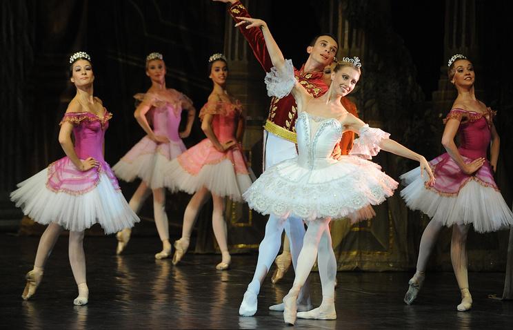 """Сцена из балета """"Пахита"""""""