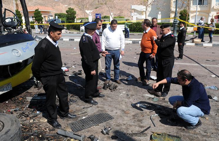 После теракта в городе Таба. 16 февраля