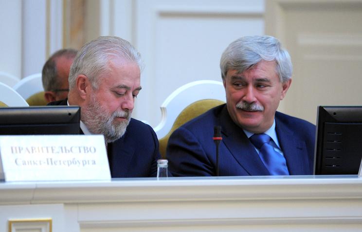Игорь Дивинский и Георгий Полтавченко