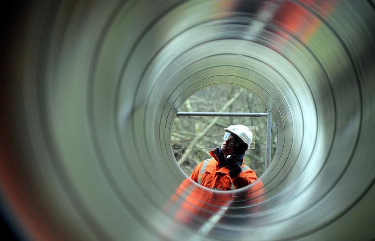 Подготовка к строительству участка газопровода