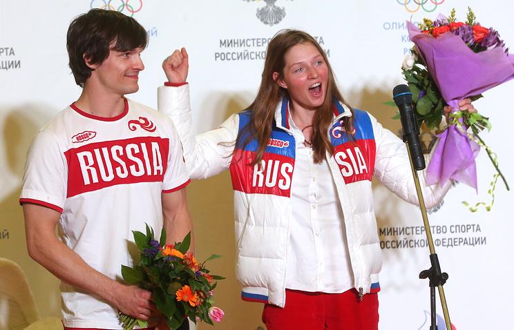 Виктор Вайлд и Алена Заварзина
