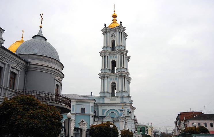 Кафедральный Спасо-Преображенский Собор в городе Сумы