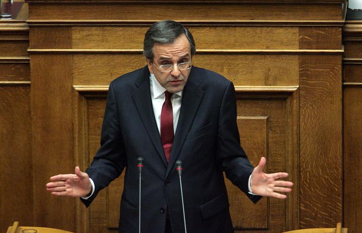 Премьер-министр Греции Антонис Самарас