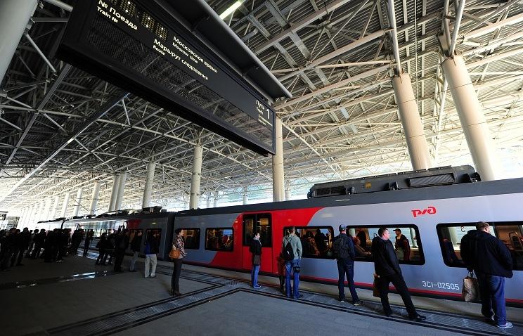 Железнодорожный вокзал в Красной Поляне