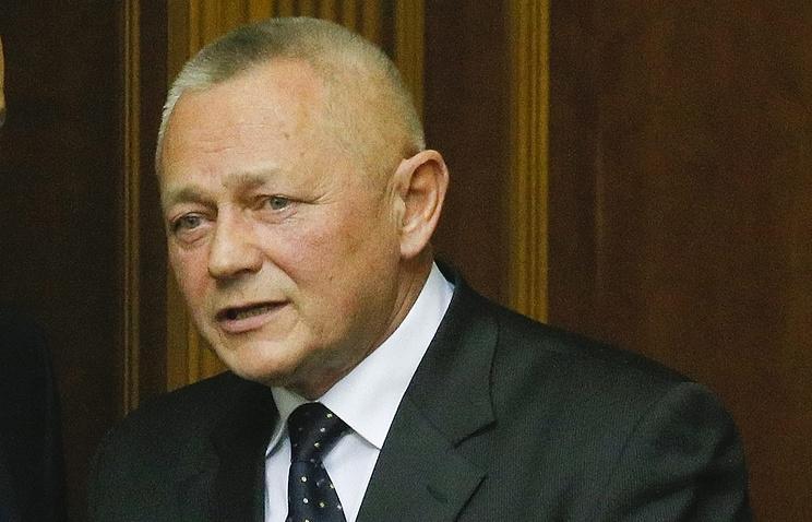 Исполняющий обязанности министра обороны Украины Игорь Тенюх