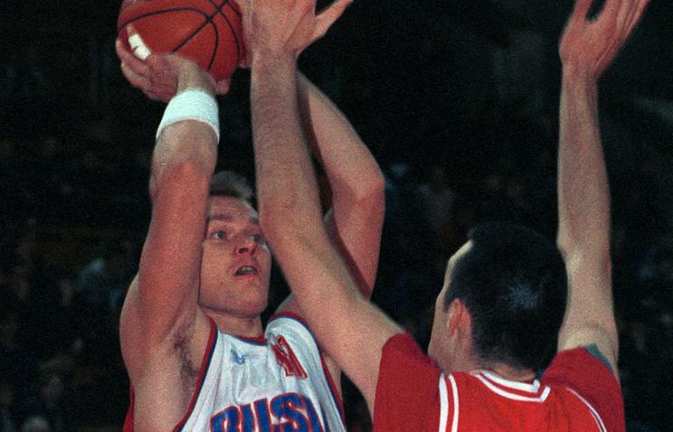 Михаил Михайлов в составе сборной России. 2000 год