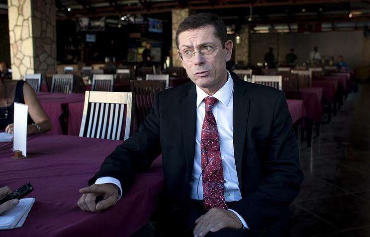 Помощник генерального секретаря ООН по правам человека Иван Шимонович