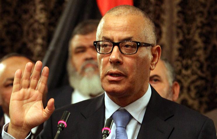 Бывший премьер-министр Ливии Али Зейдан