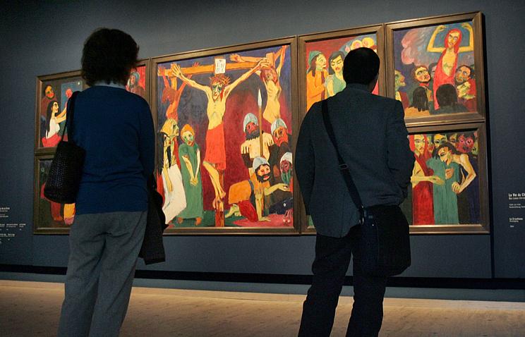 Выставка Эмиля Нольде