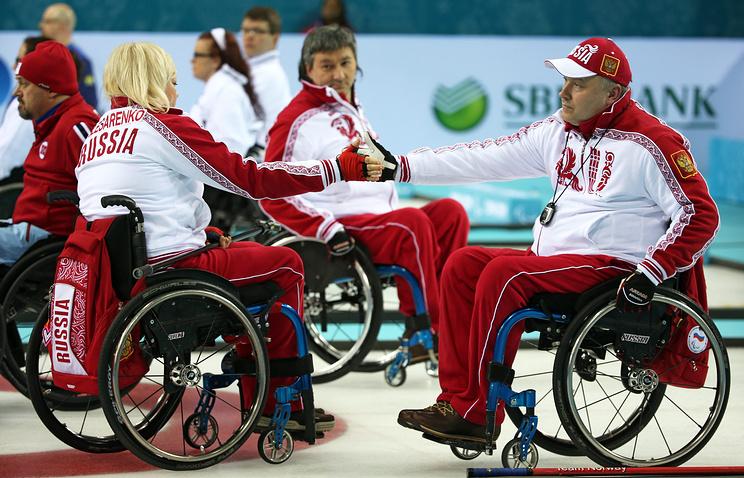 Сборная России по керлингу на колясках