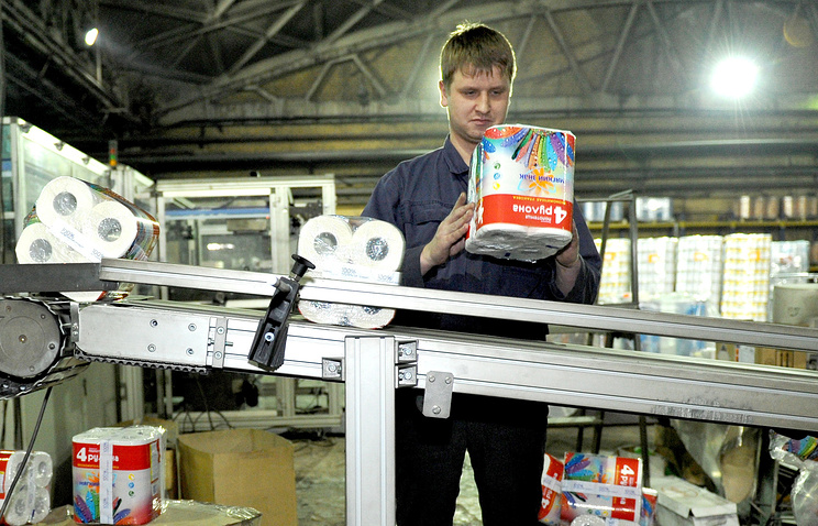 Линия фасовки бумаги на Сясьском ЦБК