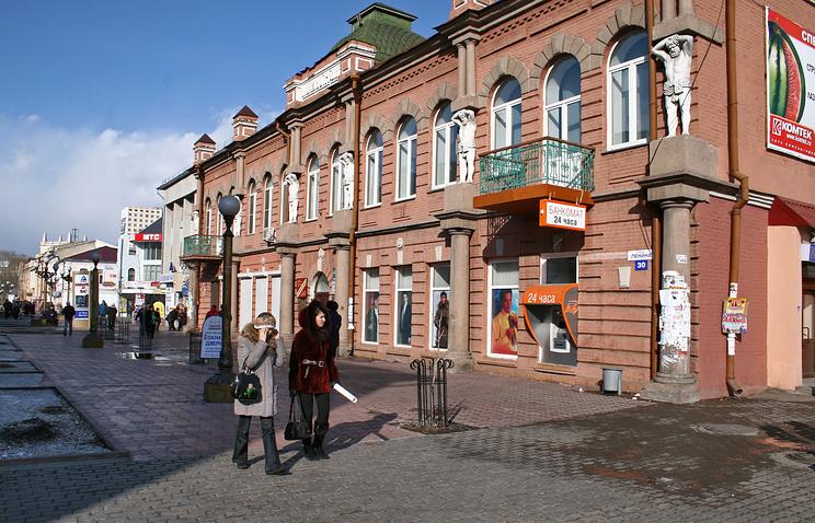 Улица Ленина в Улан-Удэ