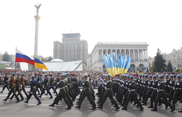 Парад Победы в Киеве, 9 мая 2010 года