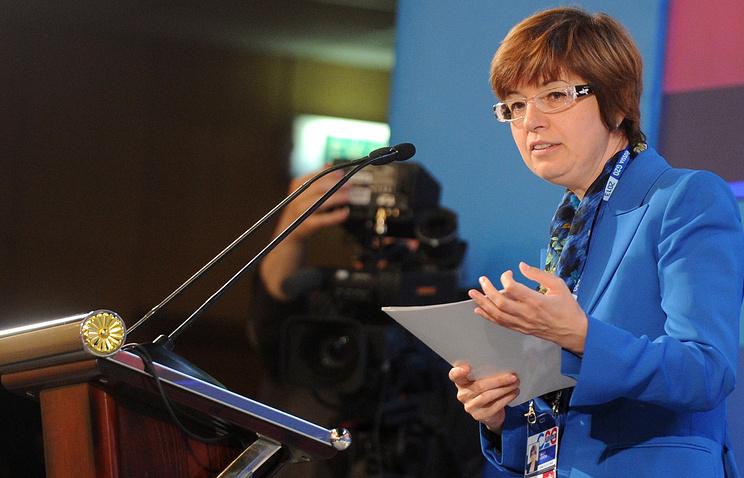 Первый заместитель председателя ЦБ РФ Ксения Юдаева