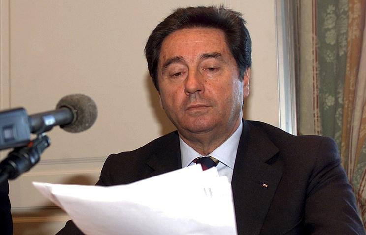 Президент ISU Оттавио Чинкванта