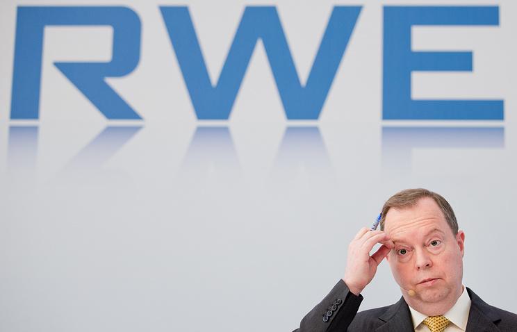 председатель правления RWE Петер Териум