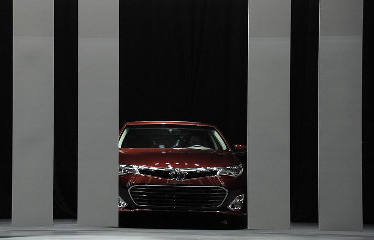 Презентация Toyota Avalon в Нью-Йорке