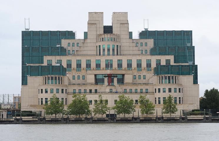 Здание секретной разведывательной службы Великобритании. Лондон