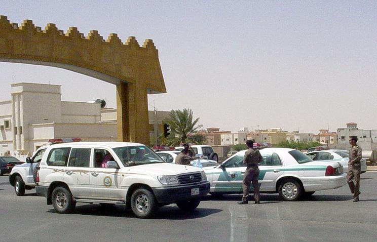 Полицейский пост в Саудовской Аравии