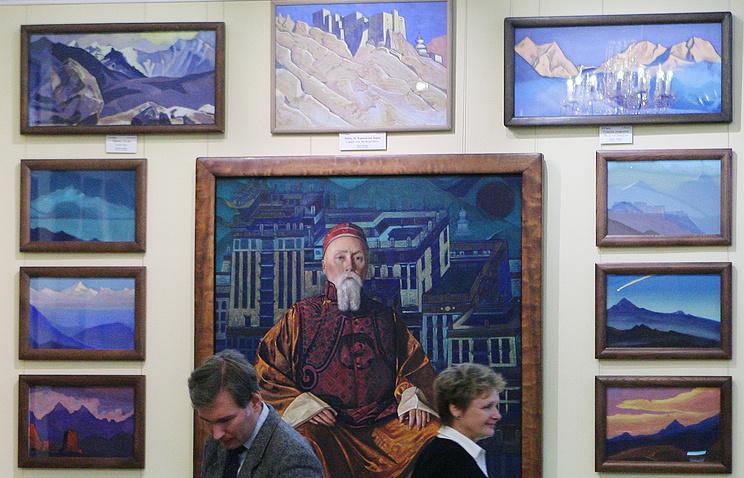 Выставка Н.К.Рериха.