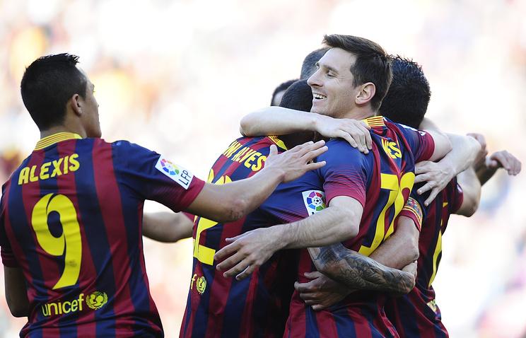 """Игроки """"Барселоны"""""""