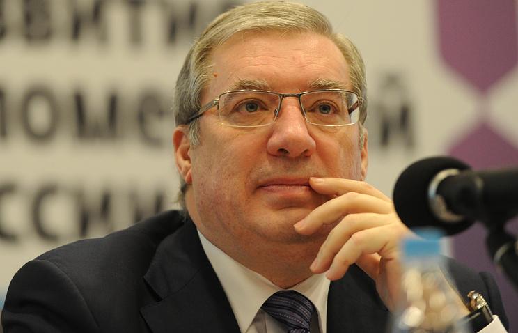 Полномочный представитель президента РФ в СФО Виктор Толоконский