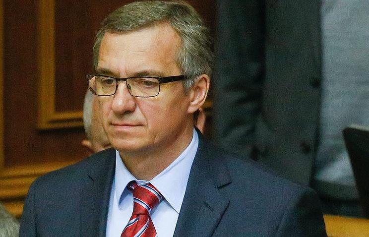 Назначенный Радой министр финансов Украины Александр Шлапак