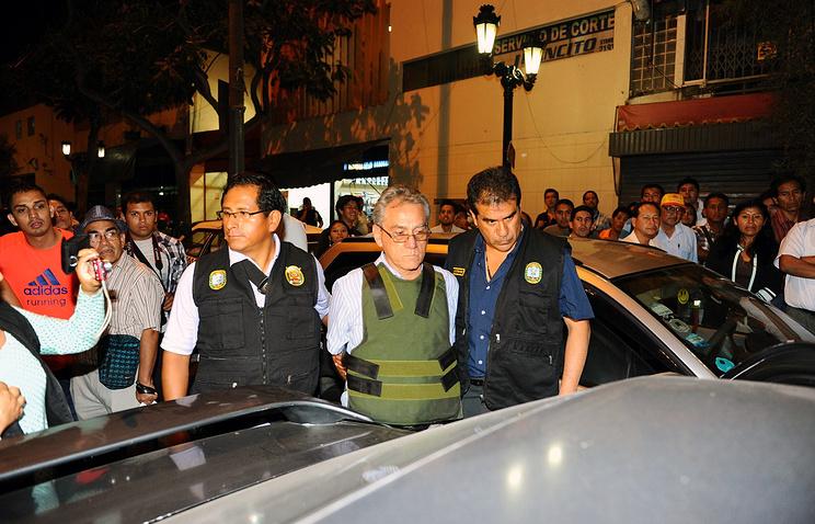 Задержание адвоката Альфредо Креспо