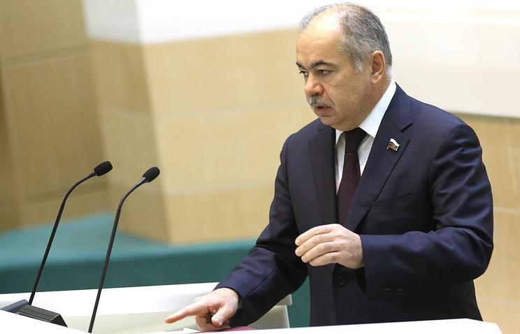 Заместитель председателя Совета Федерации Ильяс Умаханов