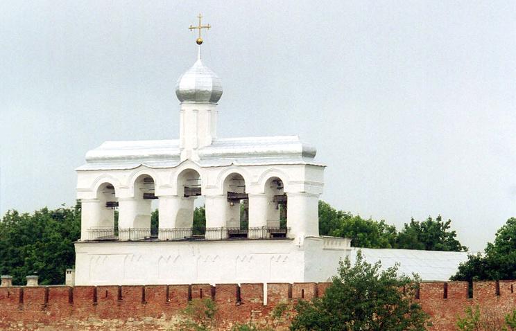Софийская звонница Кремля в Великом Новгороде
