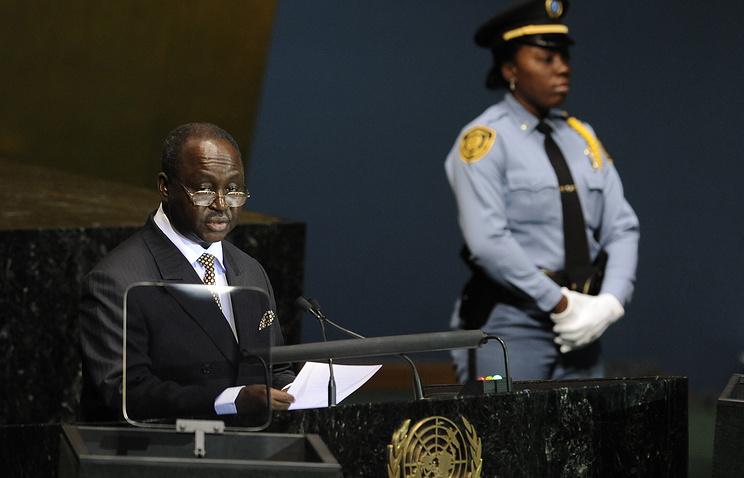 Экс-президент Центральноафриканской Республики Франсуа Бозизе (слева)