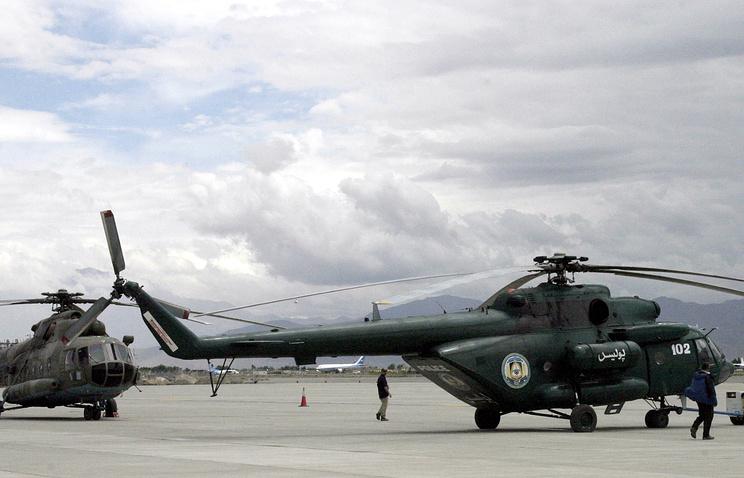 Вертолеты Ми-17 в Афганистане