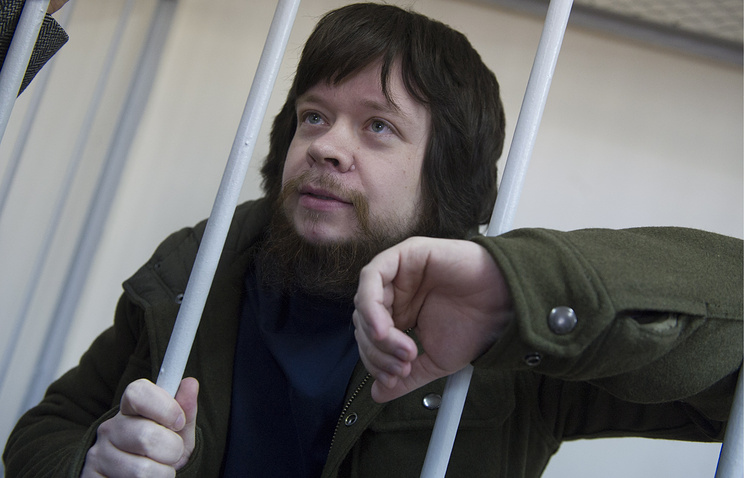 """Активист """"Левого фронта"""" Константин Лебедев"""