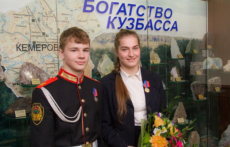 Никита Некрасов и Алена Карпенко