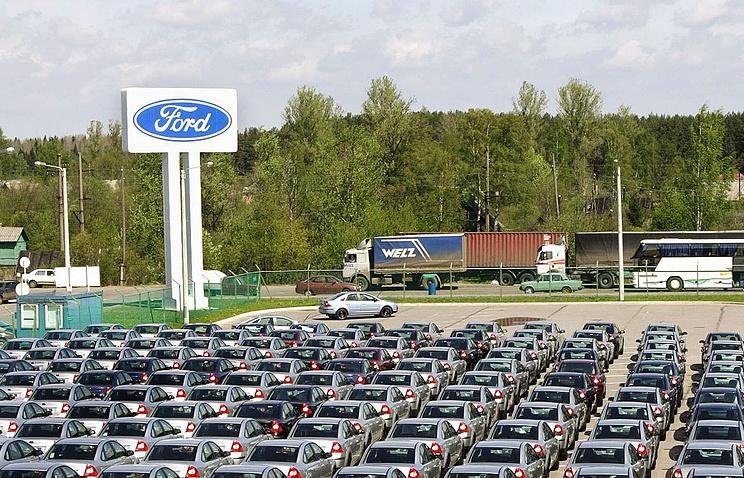 Завод Ford Motor Company во Всеволожске