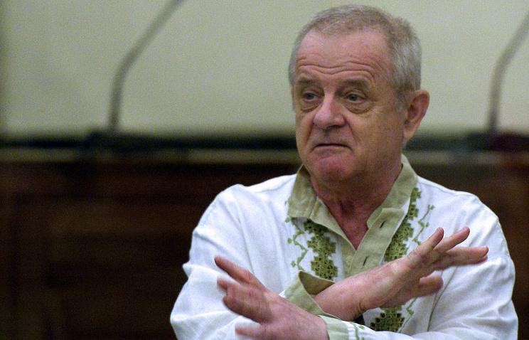 Отставной полковник ГРУ Владимир Квачков во время заседания в Верховном суде России