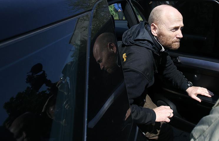 Один из членов группы наблюдетелей ОБСЕ, гражданин Германии полковник бундесвера Аксель ШнайдерАксель Шнайдер