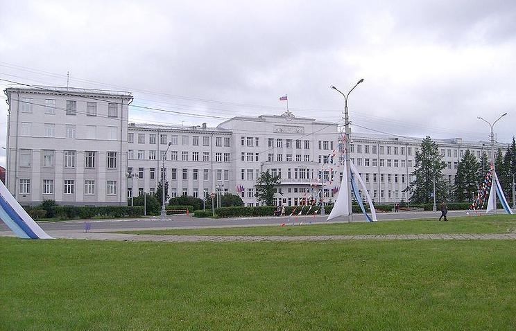 Здание Правительства и администрации губернатора Архангельской области