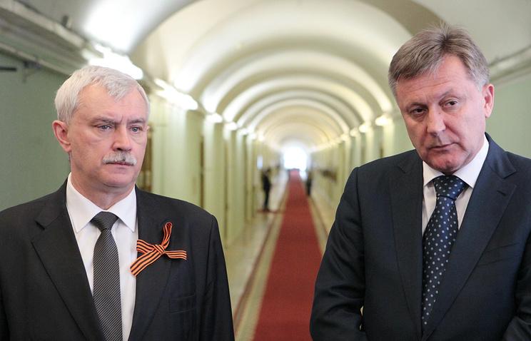 Встреча губернатора Георгия Полтавченко и Симферопольского городского головы Виктора Агеева