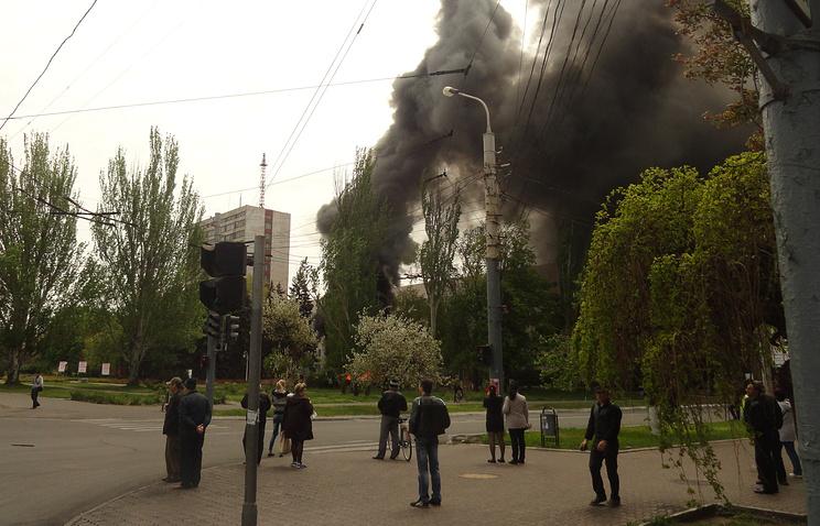 Украина. Мариуполь. 9 мая.
