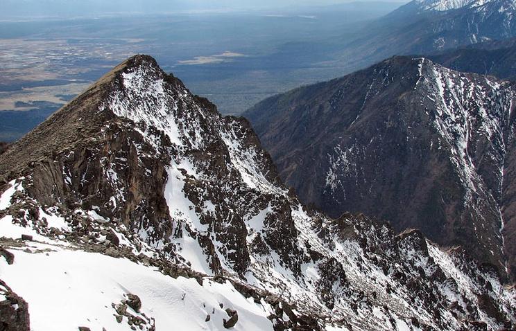 Пик Любви - одна из вершин Тункинских гольцов