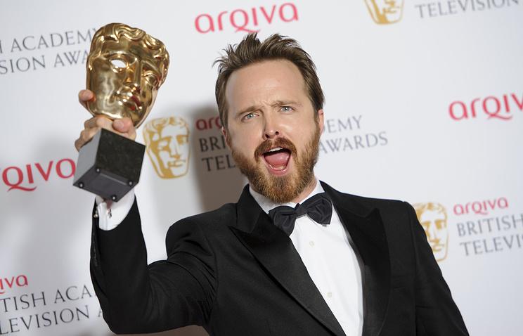Актер Аарон Пол на вручении BAFTA
