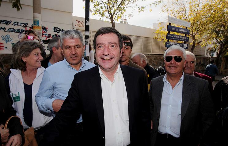 Действующий мэр Афин Георгис Каминис