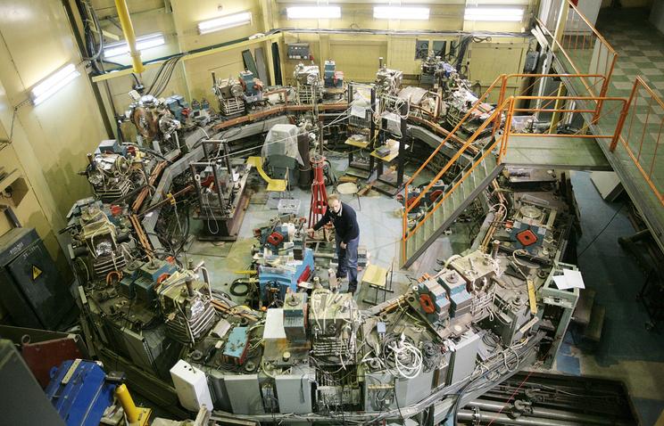 Коллайдер ВЭПП-2000 в Институте ядерной физики имени Г.И. Будкера в Новосибирске