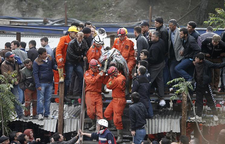 Во время спасательных работ на шахте