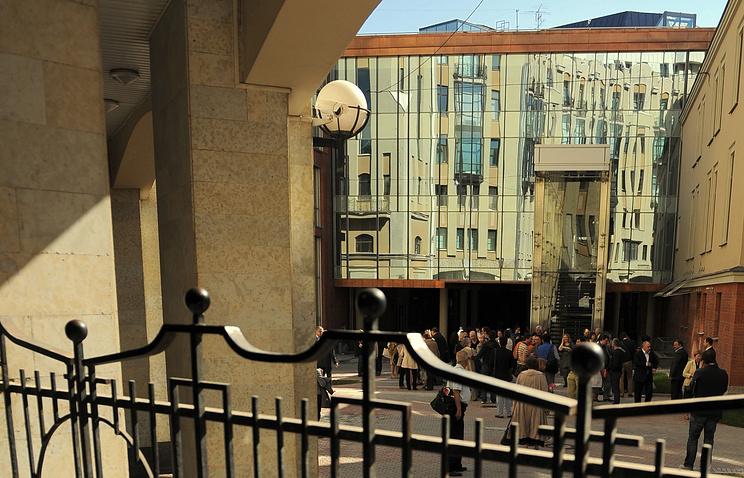 Вид на здание второй сцены Александринского театра