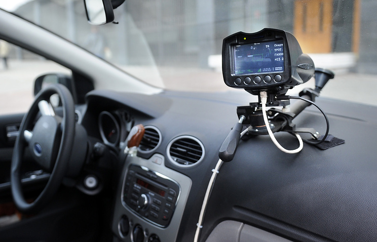"""Автомобиль, оборудованный видеофиксатором """"Паркон"""""""