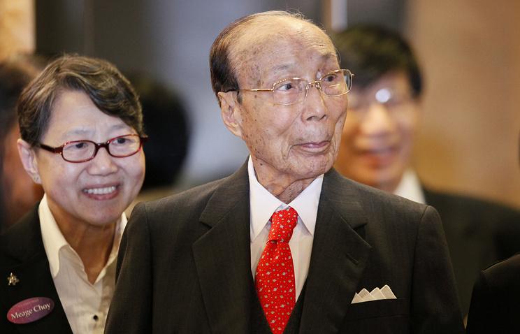 """Учредитель премии """"Шао Прайз-2014"""" /""""Shaw Prize""""/ мультимиллионер и медиамагнат из Гонконга Шао Ифу, скончавшийся в январе 2014 года на 107-м году жизни"""