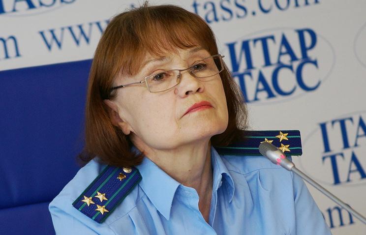 Римма Бобина, сотрудник областной прокуратуры